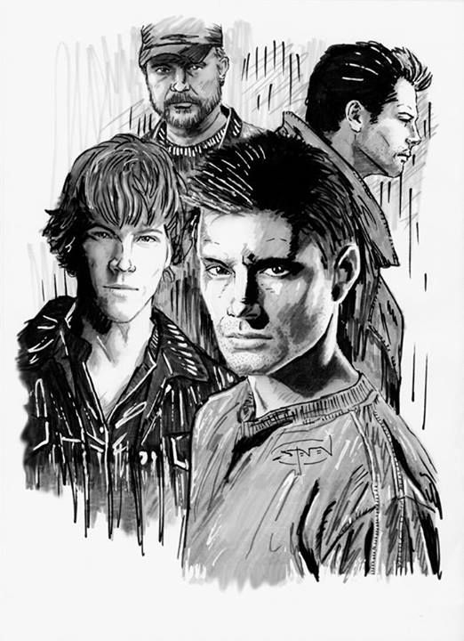 supernatural drawing