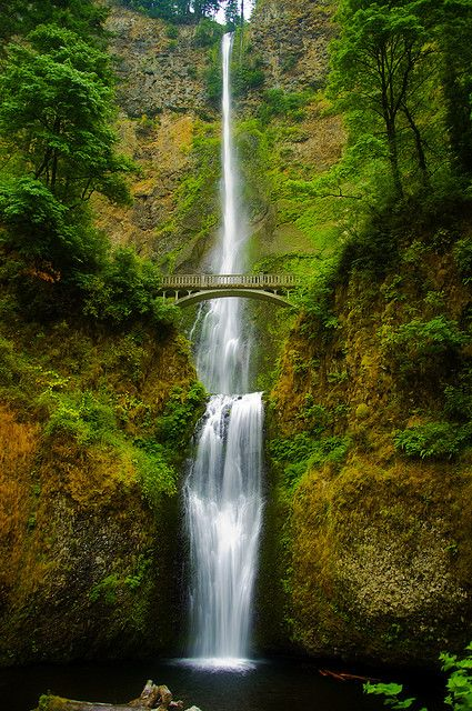 Majesty Of Multnomah | Multnomah falls and Columbia river ...