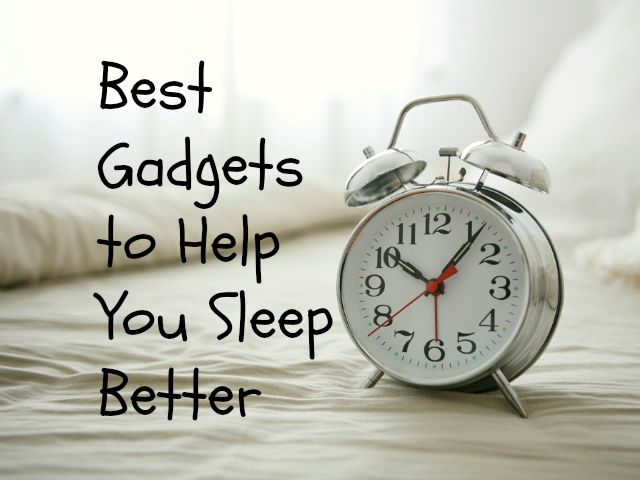 Best Gadgets to Help You Sleep Better - Having trouble getting restful sleep at night or while traveling? Check out GetdatGadget's selection of gadgets designed to help you sleep better. GetdatGadget.com