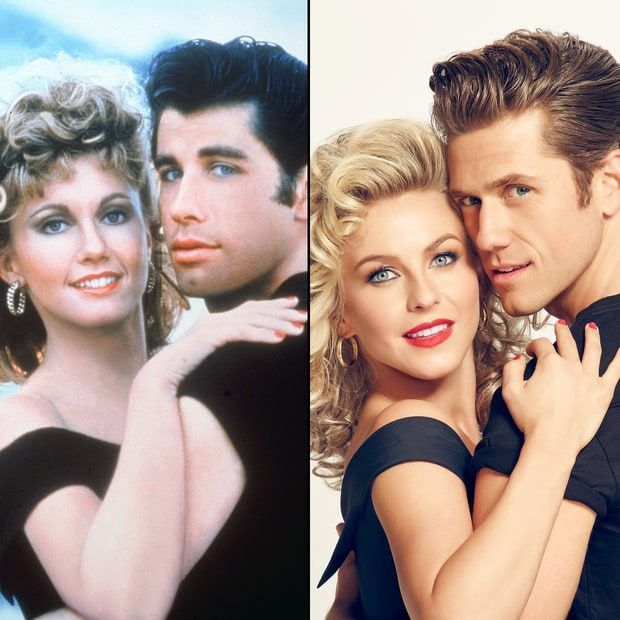The real GREASE vs. the new lukewarm version....