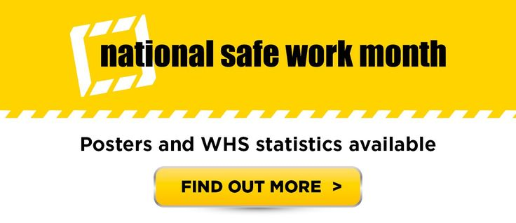 This October, raise awareness, encourage discussion, share stories. #safeworkmonth October 2016