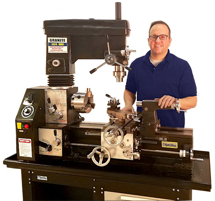 Smithy Lathe Mill Combo Machine