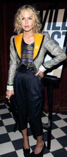 Who made Rachel Zoe's shirt and jacket that she wore on her show the Rachel Zoe project?
