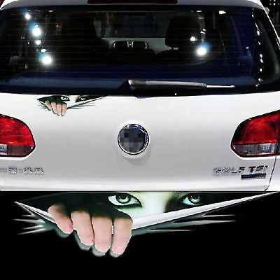 Best Adesivos Images On Pinterest Cars Vw Bugs And Draw - Car sticker designripped torn metal design with evil eye monster motif external