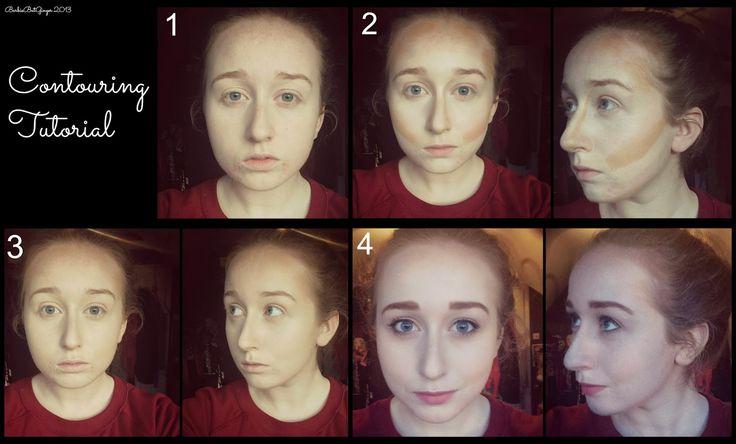 Barbie But Ginger: Contouring Tutorial #contourtutorial #contouring #highlighting #makeup