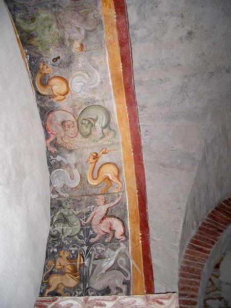 Duomo Ivrea Affreschi-medievali