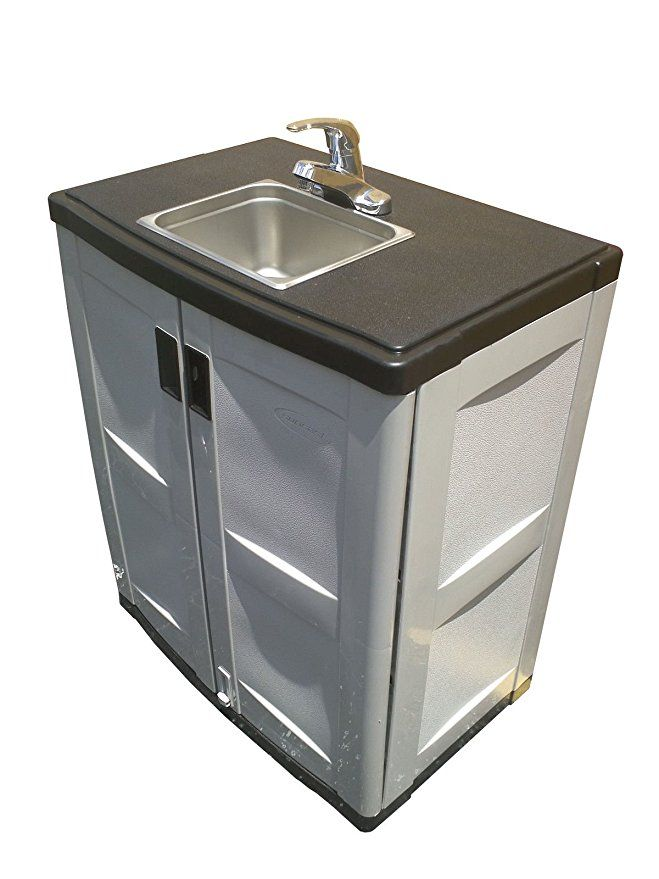 Portable Sink Self Contained Hand Wash Station With Cold And Hot Water Portable Sink Portable Sinks Sink