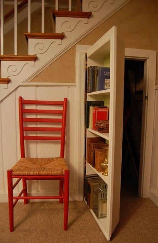 Door bookcase or bookcase door?