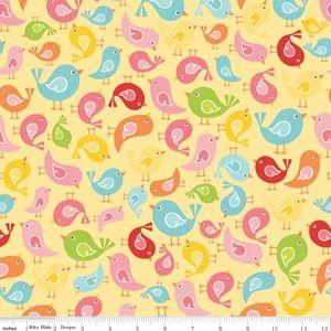 Lori Whitlock - Hello Sunshine - Birds in Yellow
