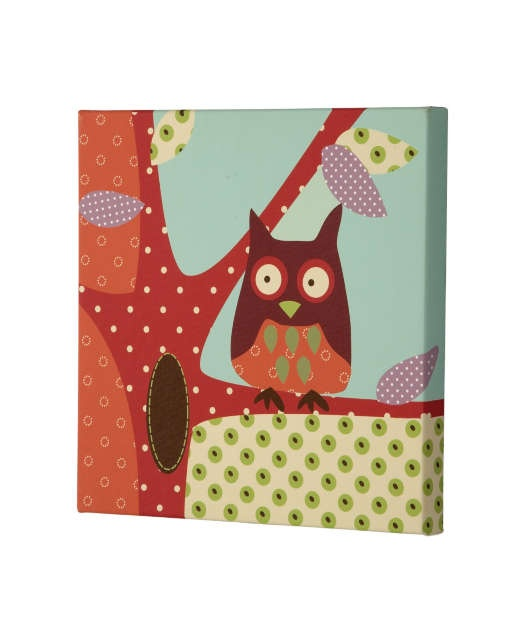 Made With Love - Canvas Picture -  Owl: Owl Stuff, Kids Bedrooms, Canvas Owl, Crafts Ideas, Owl Owl, Canvas Pictures, Illustrations Ideas, Owl Pictures, Love Canvas