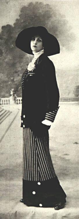 Tailleur par Antoine et Hubert, 1912