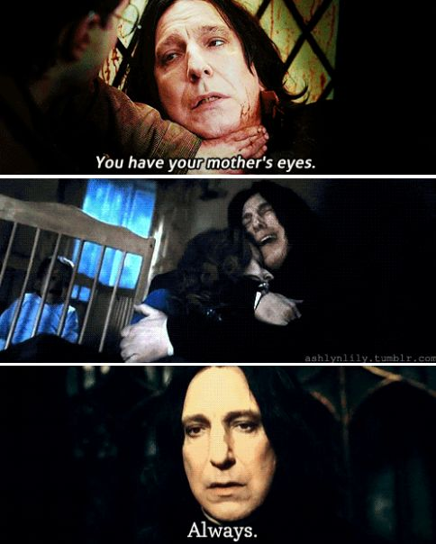 Snape and Lily - R.I.P.