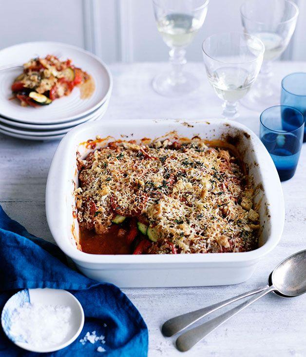 Australian Gourmet Traveller recipe for ratatouille.