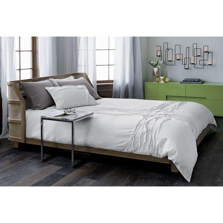 Best Twisted White King Duvet Cb2 Modern Bedroom Furniture 640 x 480