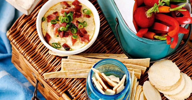 Entertaining is easy with this smoky cheese and bacon dip.