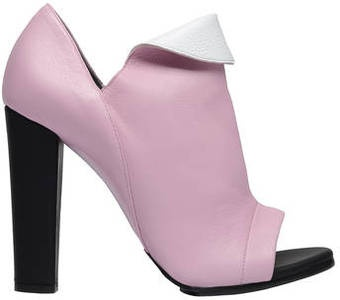 Balenciaga Balenciaga Revers Pumps Pinkwhite - Lyst