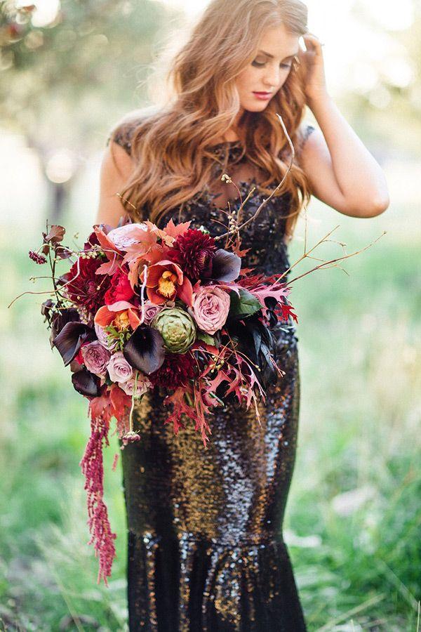 Black Wedding Dresses | www.onefabday.com