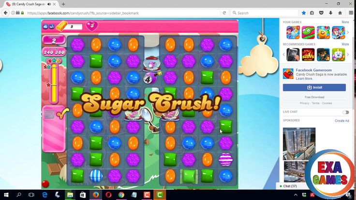 Candy Crash Saga | Level 2062 Complete with 262600 Points