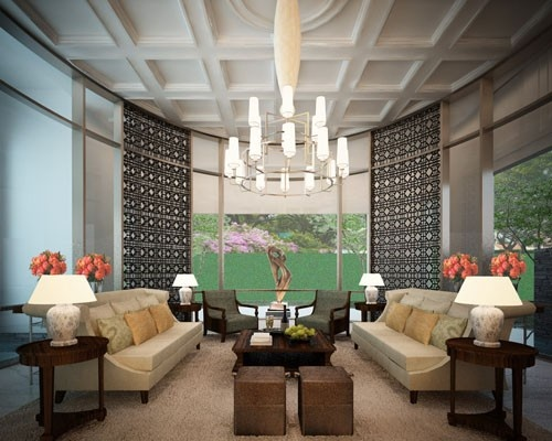 Residence at Teuku Umar - Oval Room