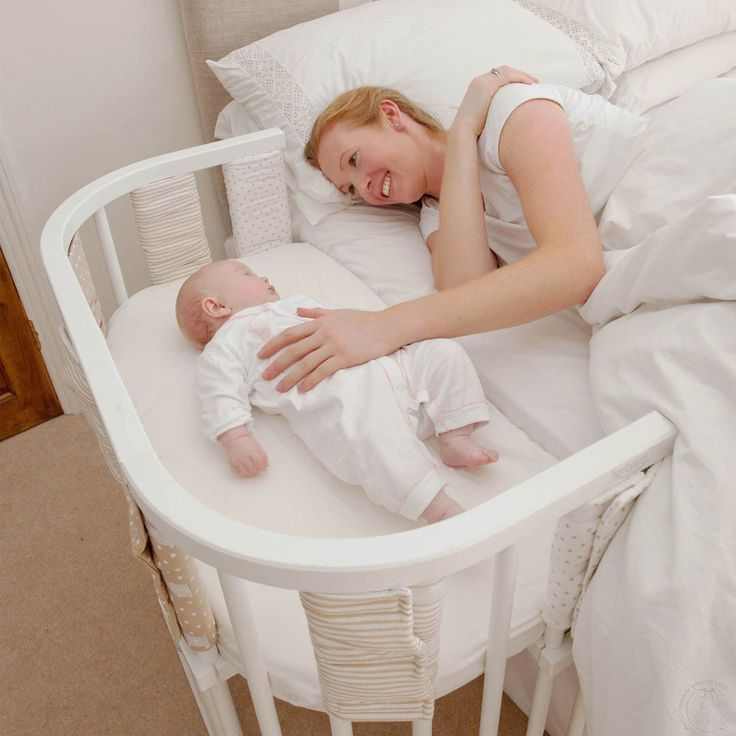 Inspiring Adorable White Bed Side Baby Cribs