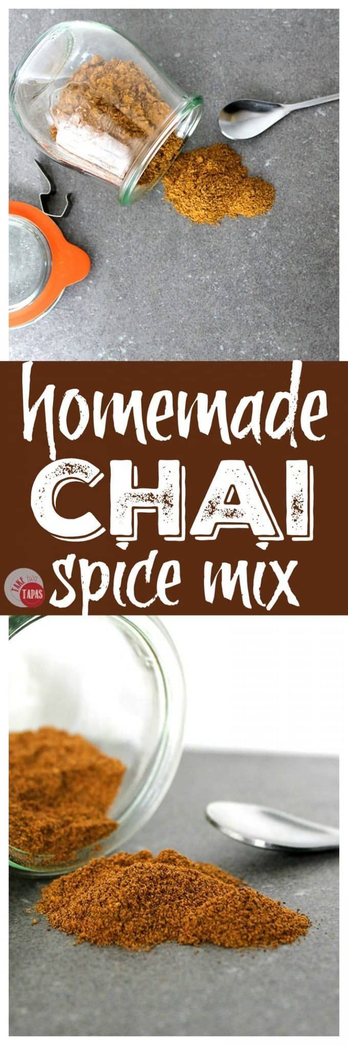 Chai Spice Mix Recipe. Perfect for breakfast drinks, tea and lattes and baked goods | Take Two Tapas