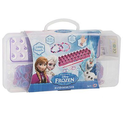 Disney frozen #rainbow loom band case 1000 bands #clips #board gift set toy,  View more on the LINK: http://www.zeppy.io/product/gb/2/390924143262/