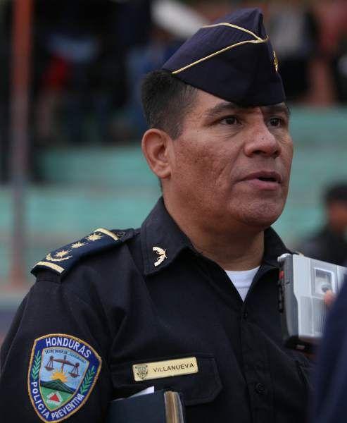 Félix Villanueva es el nuevo director de la Policía Nacional de Honduras