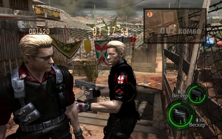 Umbrella Characters Pack / Screen 015 / Mods for Resident Evil 5(RE5) / Characters - Albert Wesker - S.T.A.R.S (Ubmrella)