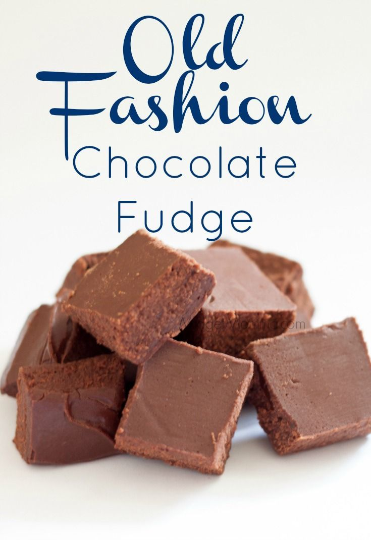 Old Fashion Chocolate Fudge like grandma makes. This Old Fashion Chocolate Fudge is like what you find in candy shops that is smooth and creamy.