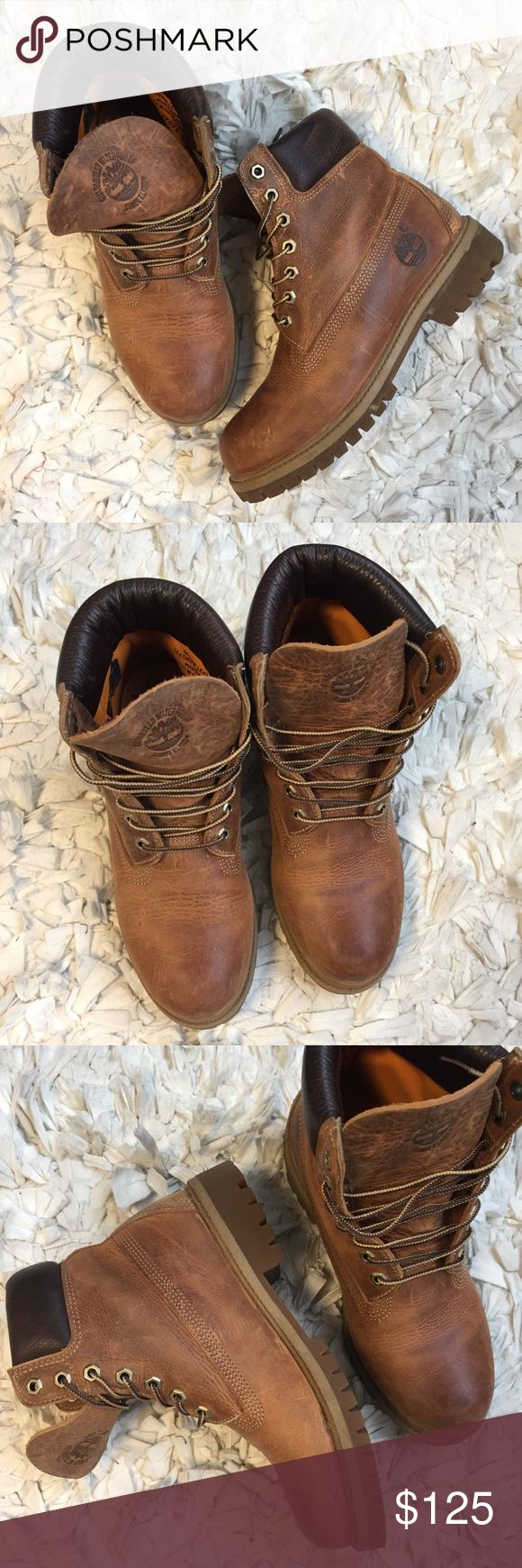 Timberland Earthkeeper Boots Rugged brown/tan Timberland boots. Worn a handful of times. Timberland Shoes Boots