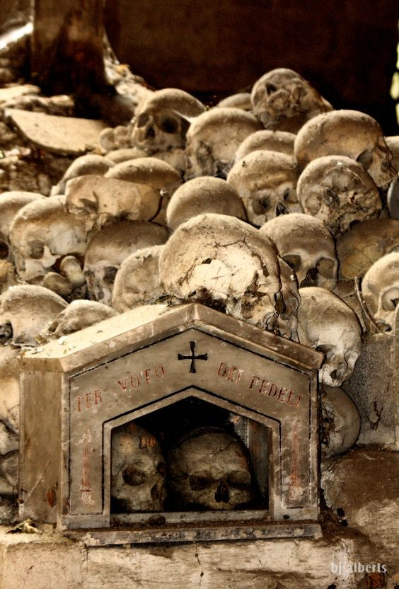 The Valley of the Dead – Naples Fontanelle Cemetery