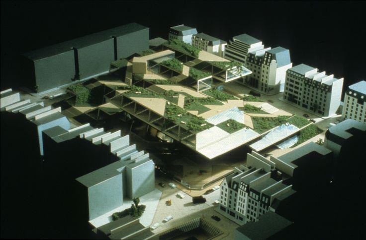 Moshe Safdie   Museo Pompidou   París; Francia   1971