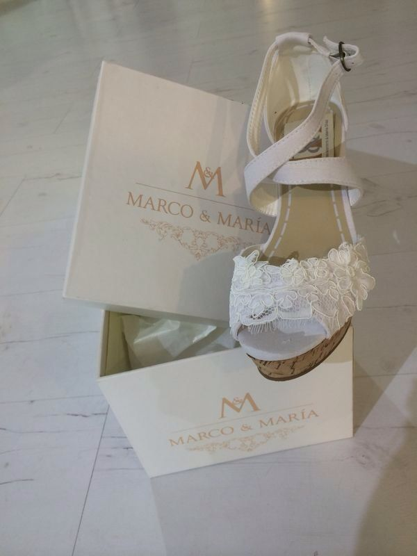 Alpargata para novia M&M Bride espadrille by M&M