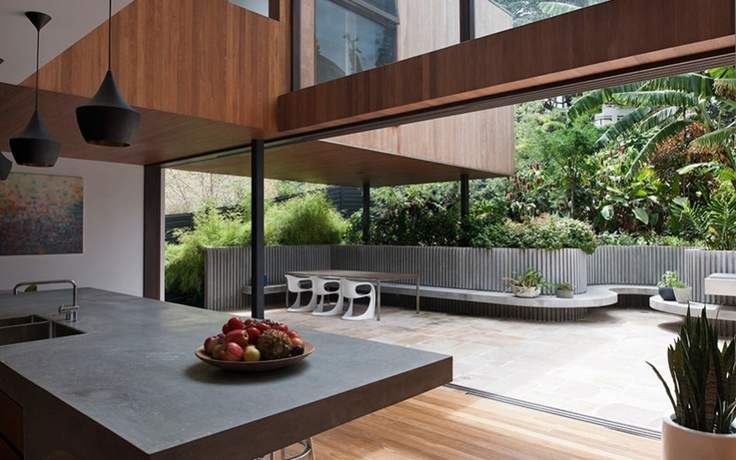 Bankok  House Mck architects _OutdoorKitchens, Spaces, House Design, Dreams, Indoor Outdoor, Interiors Design, Architecture, Mck Architects, Flip House