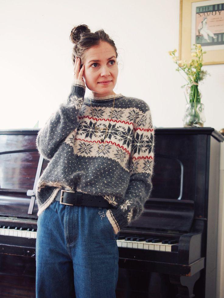 Beyond Retro Christmas jumper | Stylonylon | UK fashion blog