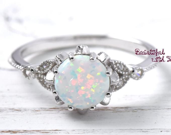 Ring Genuine Sterling Silver 925 Pearl Clear CZ Selectable Face Height 15 mm