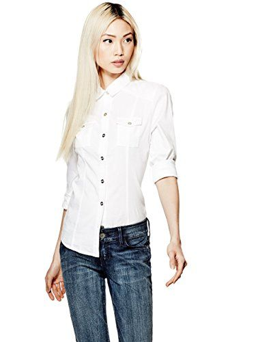 SHIRTS - Blouses Guess Buy Cheap 100% Authentic Best Online Prices Cheap Price From China Cheap Price Cheap Low Shipping Fee UXZMKjX