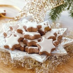 Cinnamon Stars are a traditional German and Swiss recipe and a favorite treat for the Holidays.