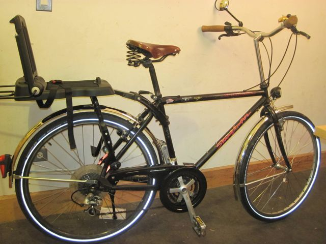 Dutch bike -- build it yourself from the bike you have!