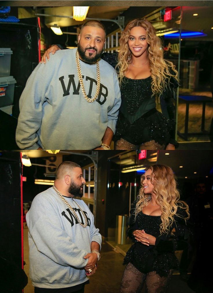 Beyoncé and opening act Dj Khalid