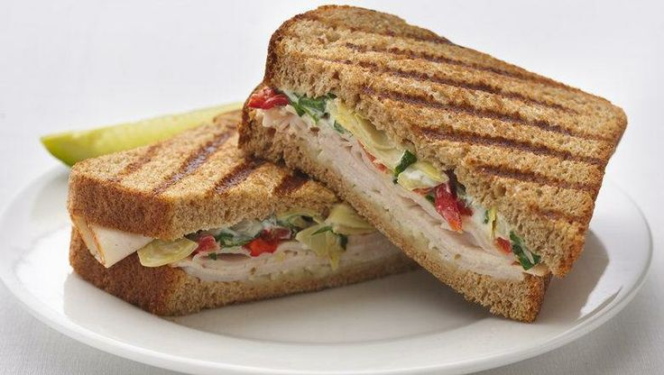 Turkey-Artichoke Panini | Recipes - Sandwiches | Pinterest