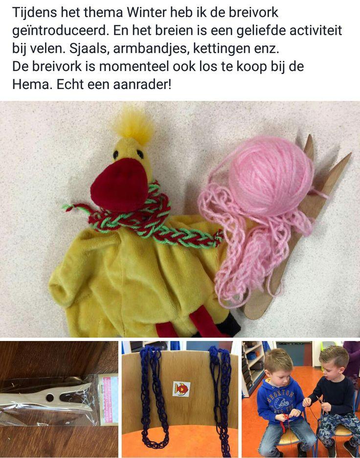 Sjaal breien voor Arie