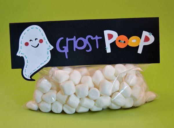 Ghost Poop...so cute