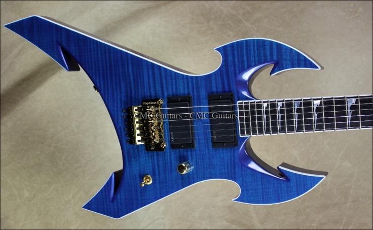 Jackson USA Custom Shop Masterbuilt Extreme 6 Transparent Blue Guitar | eBay
