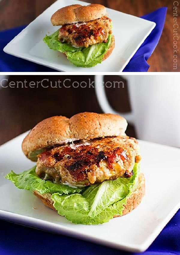 These healthy, lean CHICKEN BURGERS can be as mild or as SPICY as you'd like, and they are QUICK to make! I'm talkin' dinner on the table in under 20 minutes. Booyah!