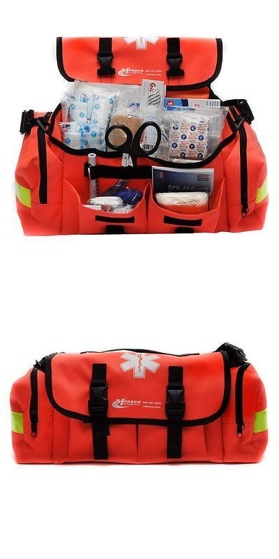 Kits and Bags: First Aid Kit Emergency Response Trauma Bag Complete -> BUY IT NOW ONLY: $102.1 on eBay!