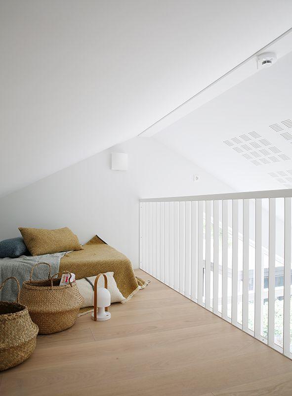 Nyfelt og Strand Interiørarkitekter, enebolig Tønsberg, spesialinnredning, hems