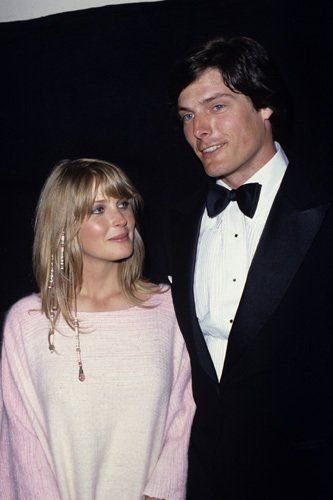 Bo Derek and Christopher Reeve at The 52nd Annual Academy Awards