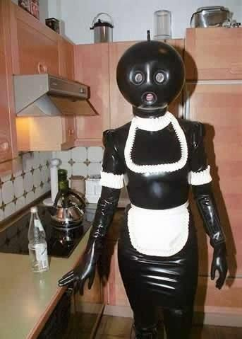 A Film By David Lynch In This Picture: Photo of a maid-robot costume