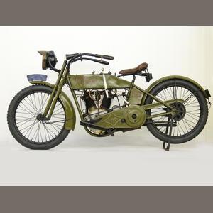 1915 Harley-Davidson Twin Frame no. 6697 Engine no. 7269 Estimate: US$ 15,000 - 20,000 £9,300 - 12,000 €11,000 - 15,000